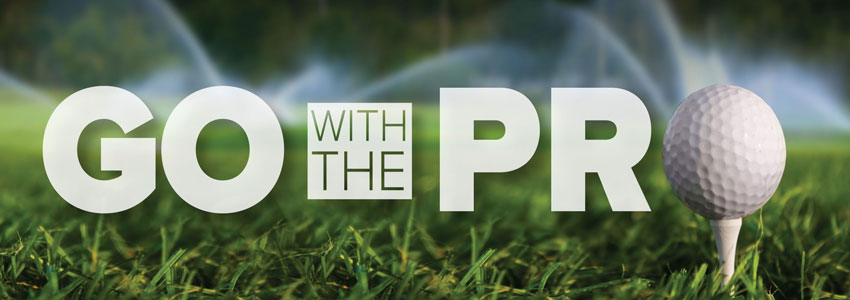 Go with the pro golf irrigation image