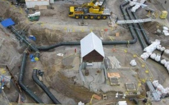 HDPE Piping project in Callaway County nuclear facility in Missouri