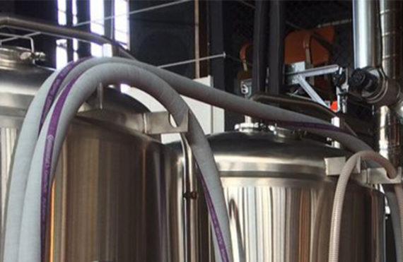 PP-R pipe at Freerange Brewing