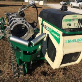 McElroy T412 Unit fusion machine