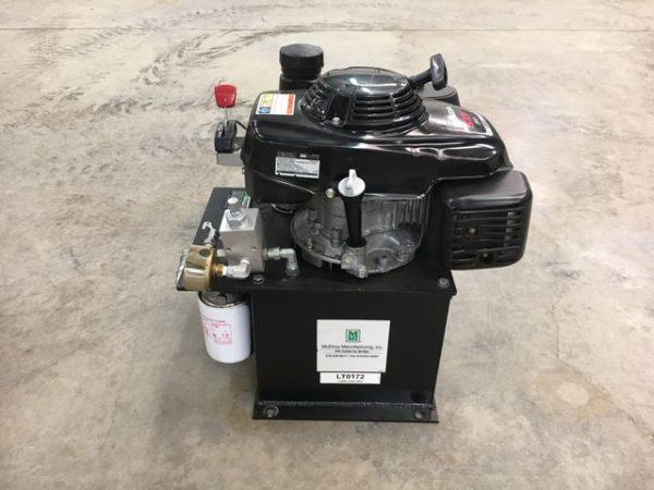 McElroy LT 5.5 HP gas Hydraulic Power Unit