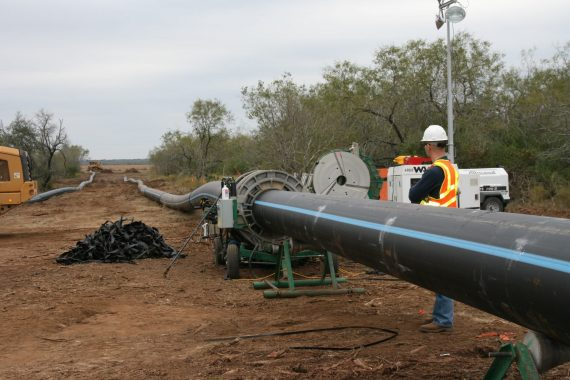 SAWS HDPE Pipe