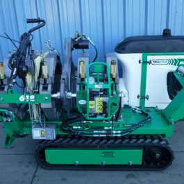 McElroy TracStar T618 machine