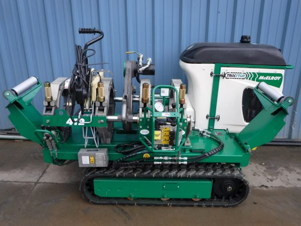 McElroy TracStar T412 Machine