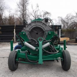 McElroy 824 Ditch Capable machine
