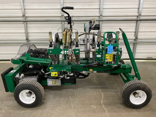 McElroy Wheeled 412 IPS/DIPS Fusion Machine
