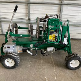 McElroy Wheeled 28 CU Fusion Machine