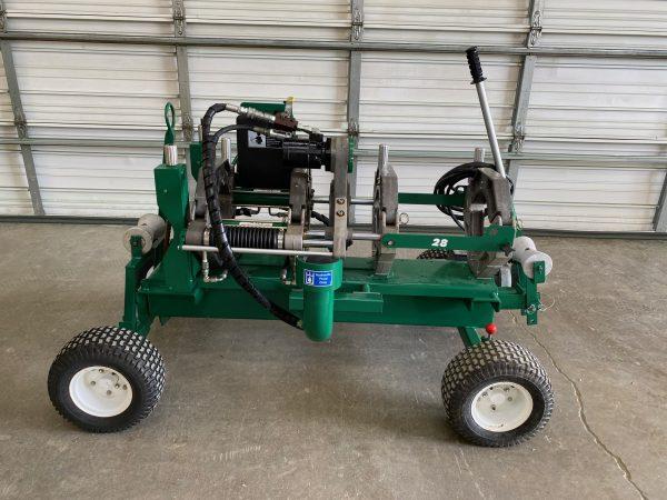 McElroy Wheeled 28 CU Fusion Machine
